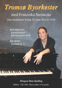 Brahms og Beethoven mars14